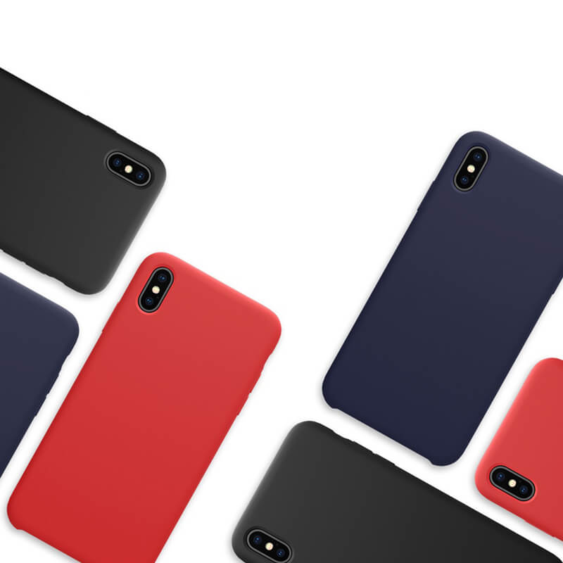 iPhone Xs Max & Xs & X & XR Liquid Silicone Case