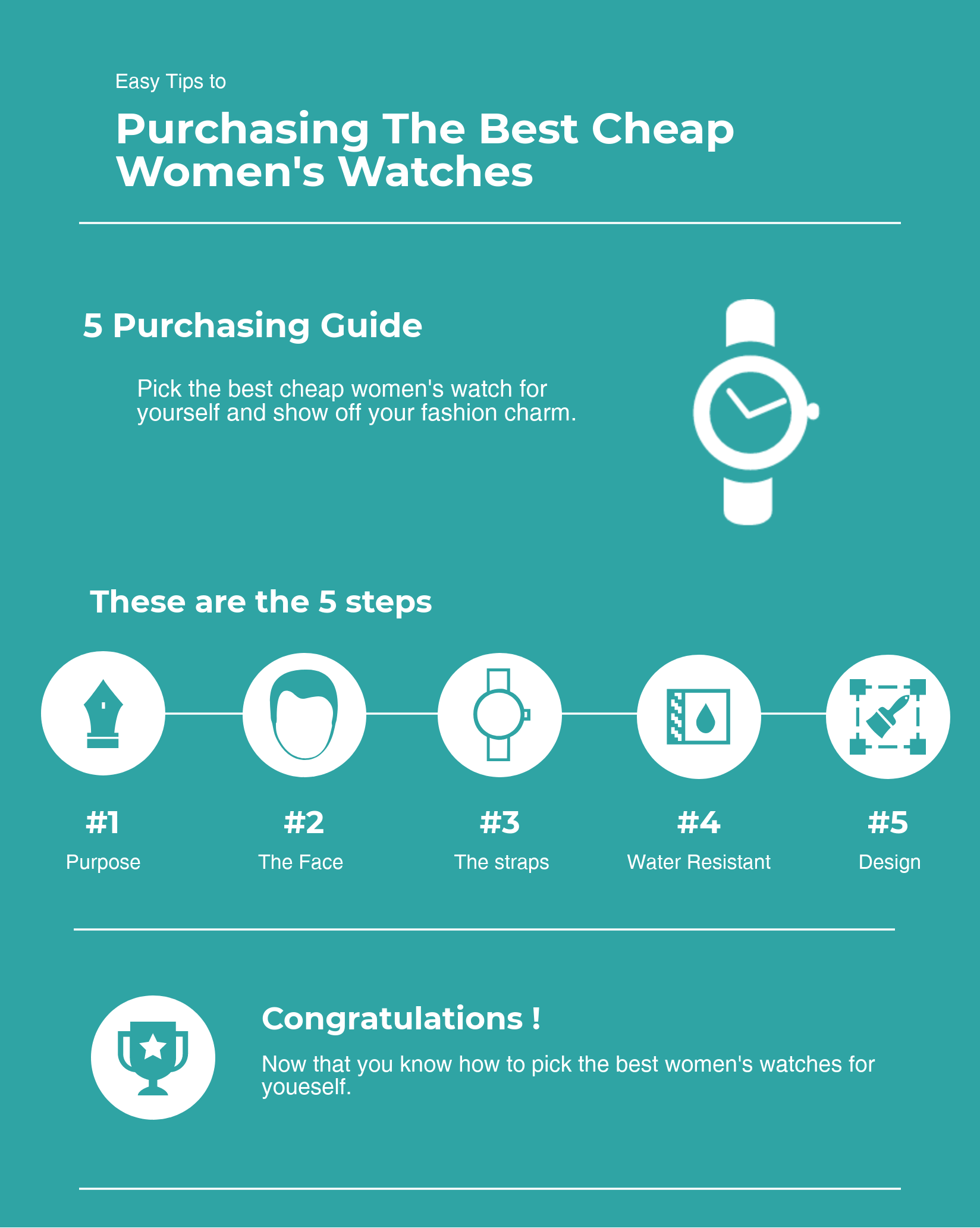 purchasing the Best Cheap Women's Watches